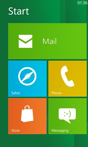 Windows 8 for Android themes