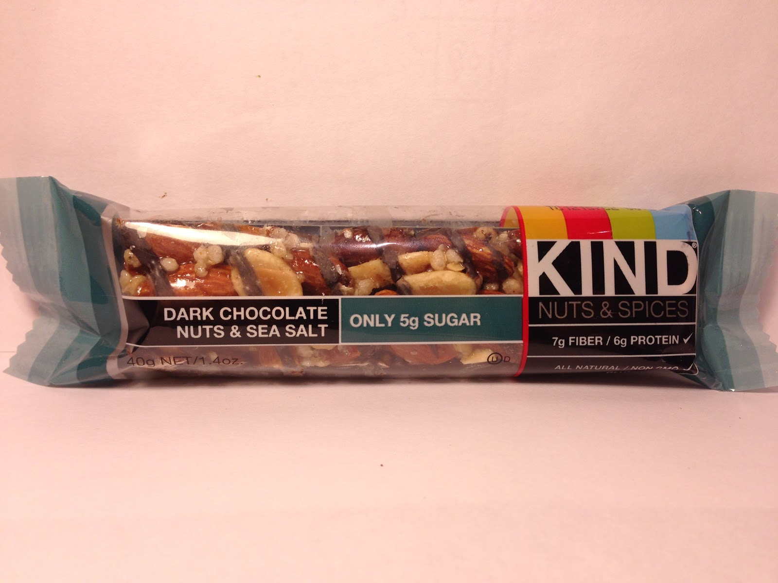 Kind Bars Dark Chocolate Nuts Sea Salt Nutrition