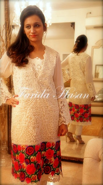 Farida Hasan Eid Dress Collection 2014