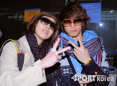 FT Island e CNBLUE juntos no aeroporto de Incheon 20110311_hongki_jonghun