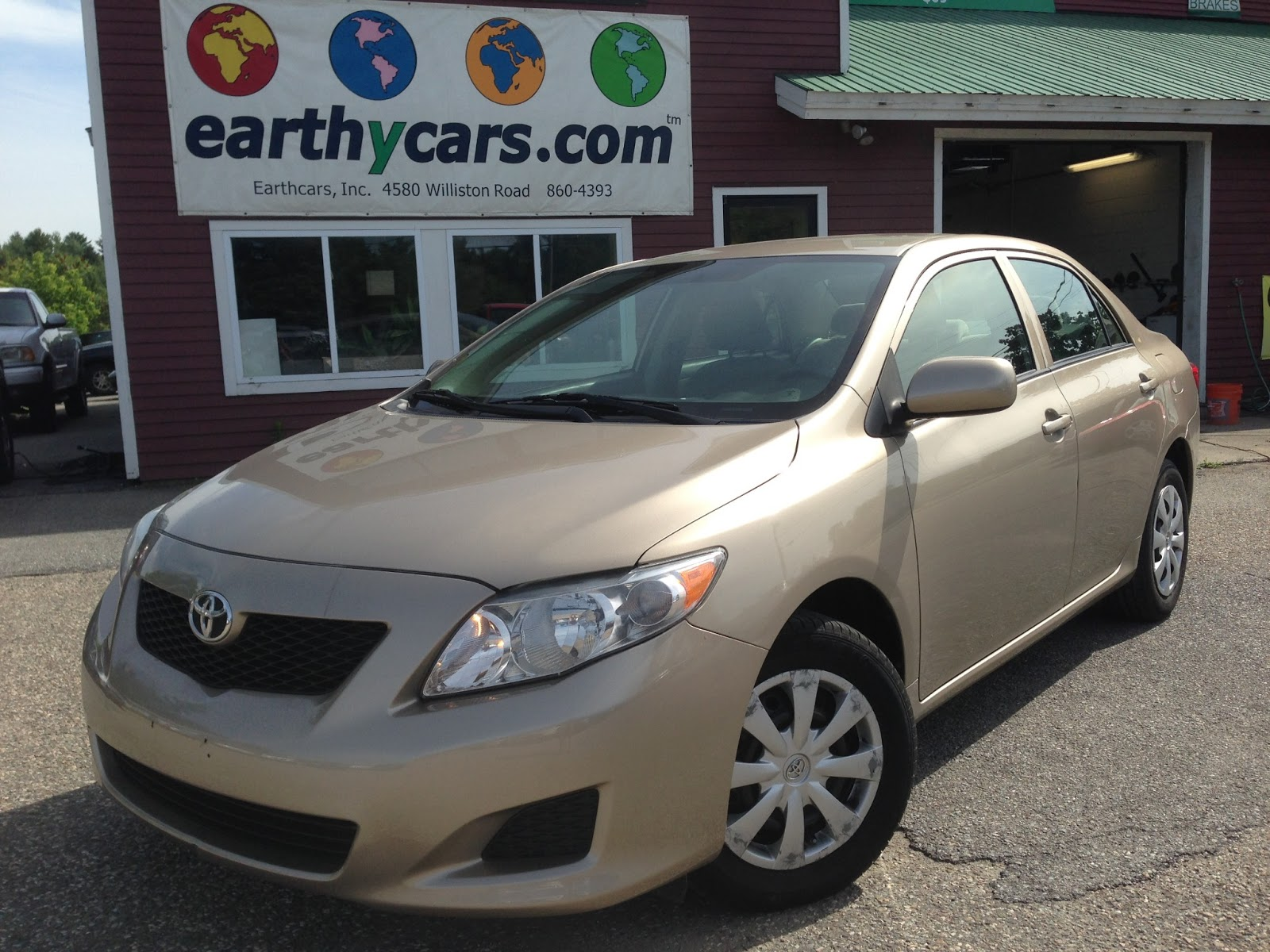 Earthy car of the week gold 2009 toyota corolla le