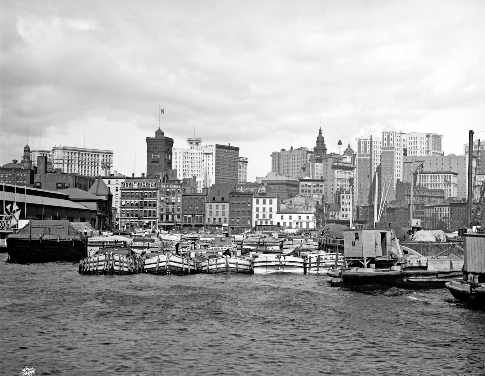 History in Photos: Detroit Publishing - New York City