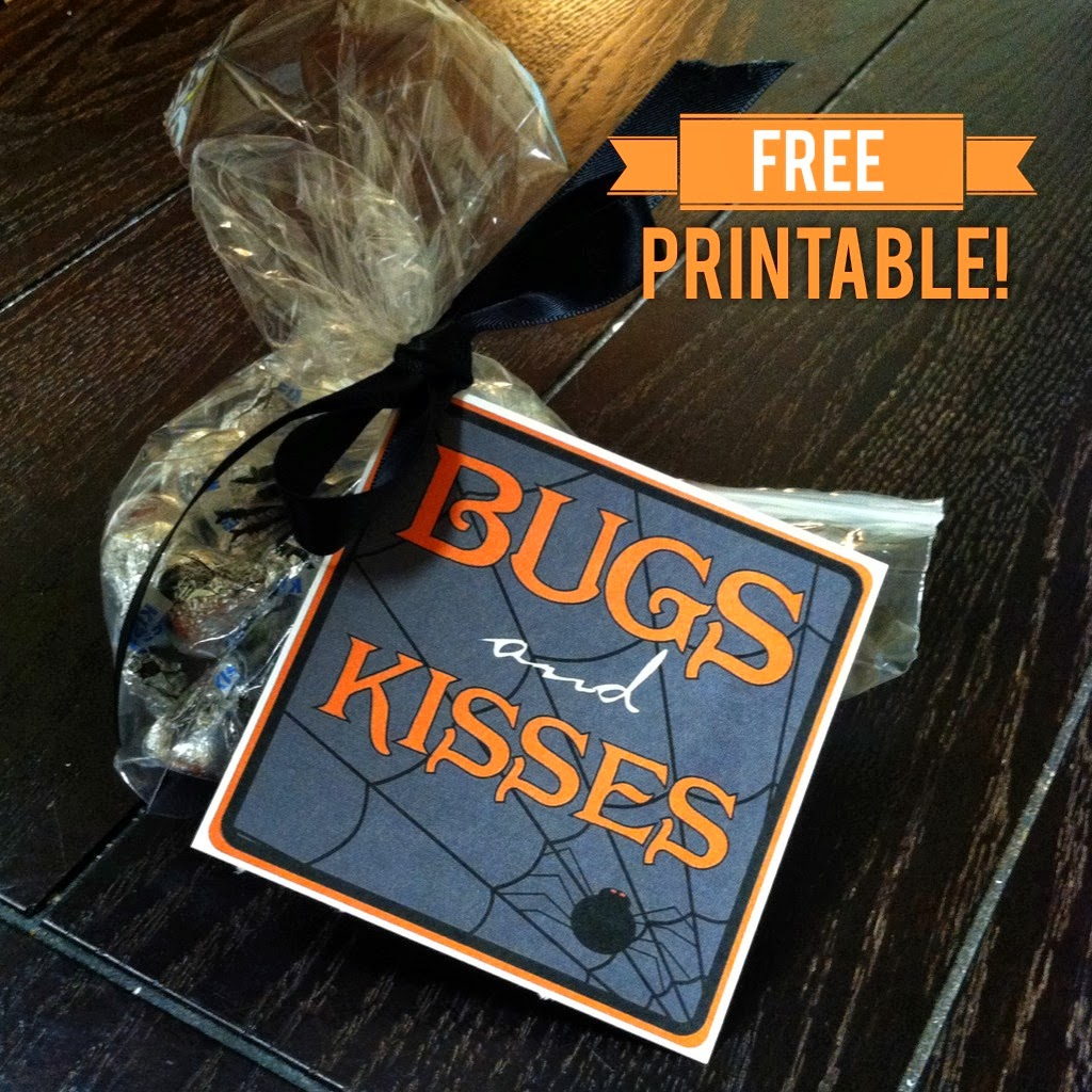 It is a photo of Influential Bugs and Kisses Printable
