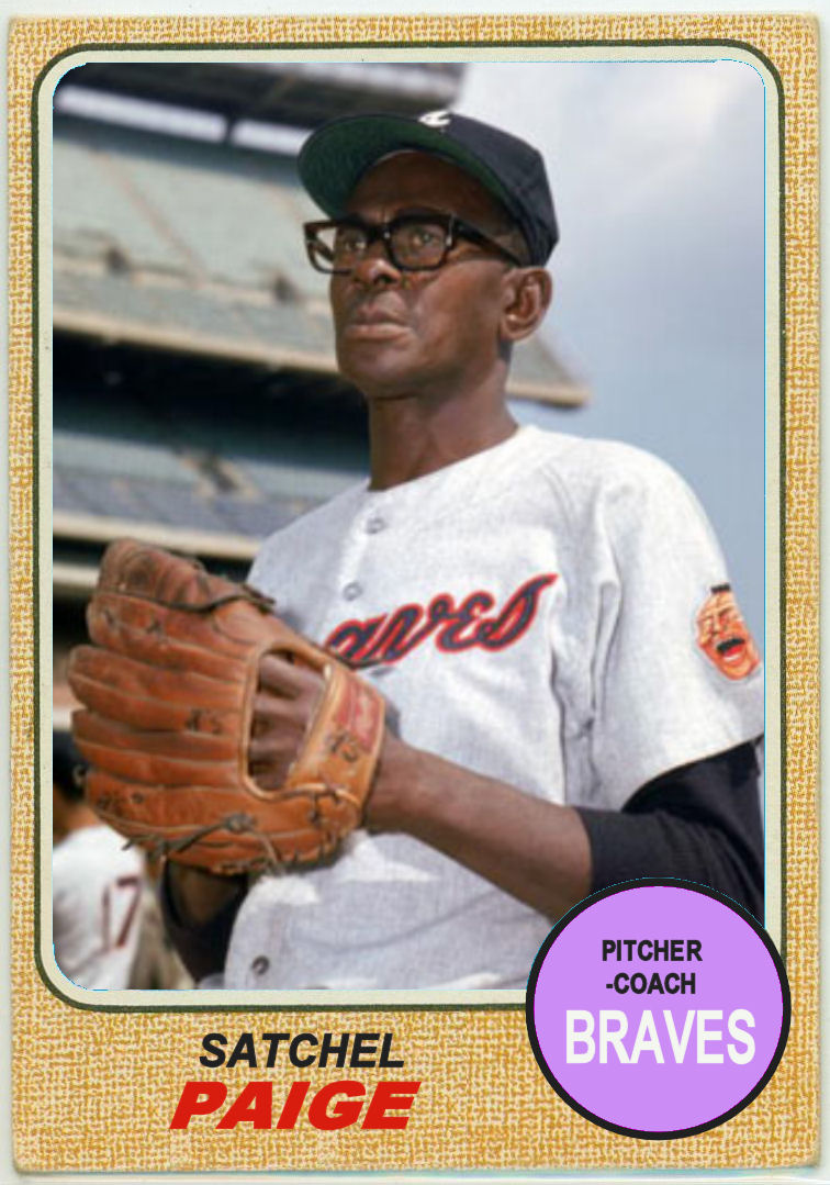 1968 Topps Satchel Paige