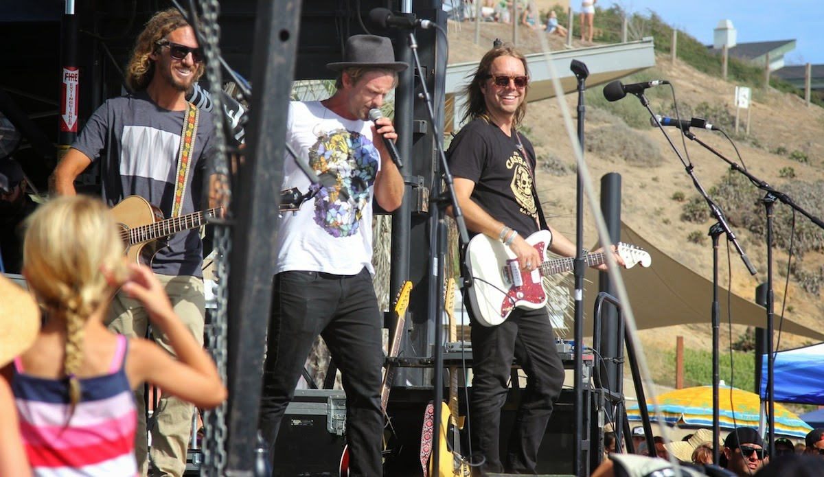 Switchfoot - The Edge Of The Earth 2014 live show in open stage