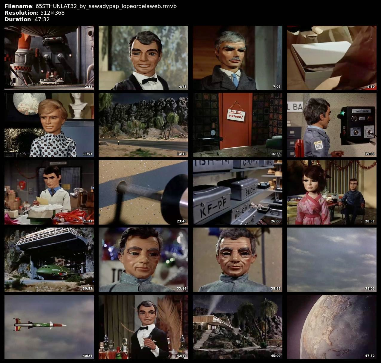 [Serie] Thunderbirds [1965] [TVRip] [Latino]