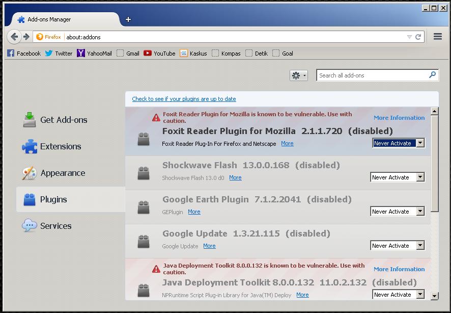 Kiat-Kiat Membuat Mozilla Firefox Menjadi Lebih Ringan dan Cepat