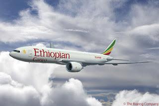 Ethiopian Airlines Boeing 777 Cargo