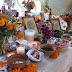 El altar como debe ser, en el Hanal Pixán del INAH Yucatán