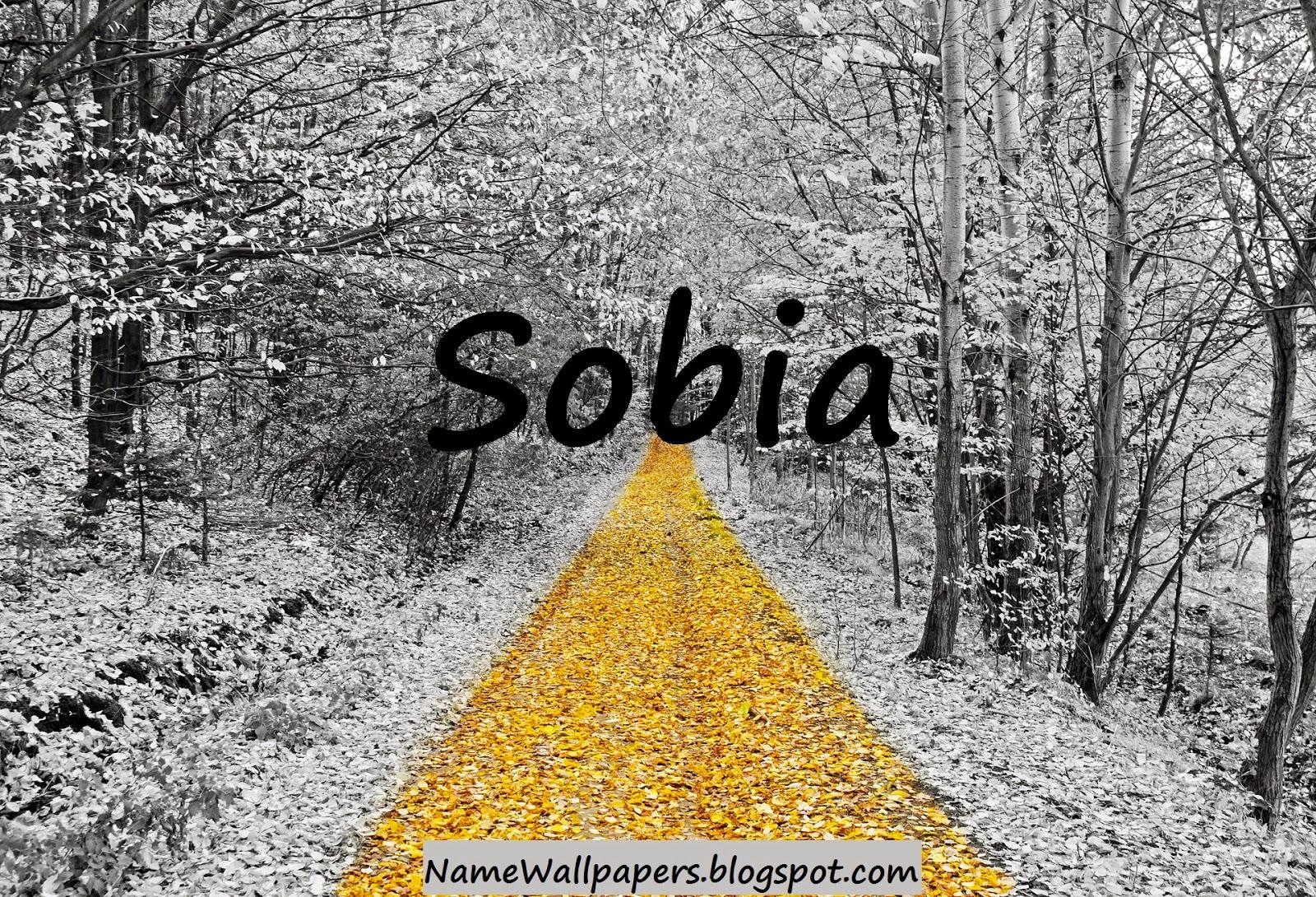 S M Name Wallpaper Sobia Name Wallpapers ...