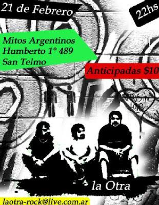 """La Otra en """"Mitos Argentinos"""" Hernan buitre Deheza, nestor nex lopez"""