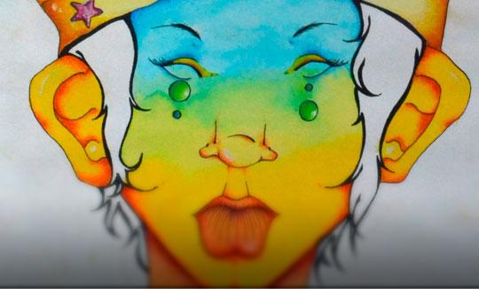 Ilustración, Unwinding the mind de Daniela Convers