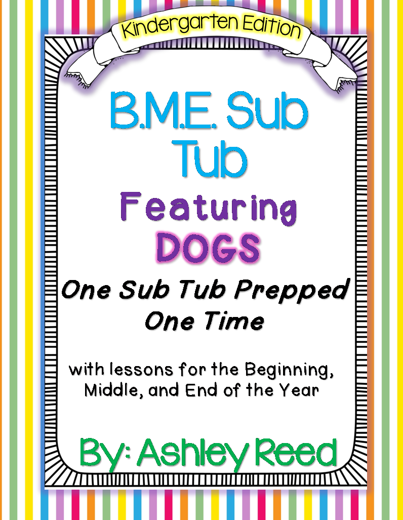 http://www.teacherspayteachers.com/Product/BME-Sub-Tub-for-Kindergarten-760112