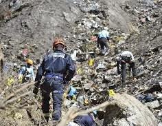 Destroços Germanwings 9525