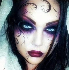 Ghost Hunting Theories: Hauntingly Beautiful Halloween Makeup