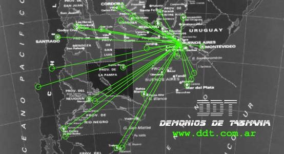 DDT-Demonios De Tasmania Fechas 1992-2018