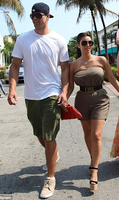 Kim-Kardashian Kris Humphries engagement photos
