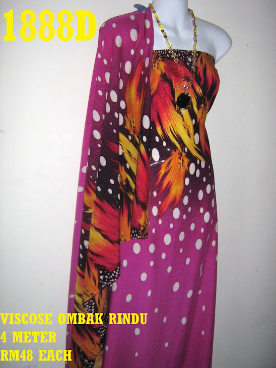 VOR 1888D: VISCOSE OMBAK RINDU, 4 METER