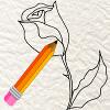 jogo-de-colorir-desenhar-rosa