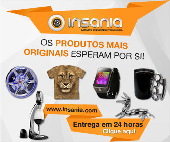 INSANIA | 10% Desconto com o Cód. NETLUCR