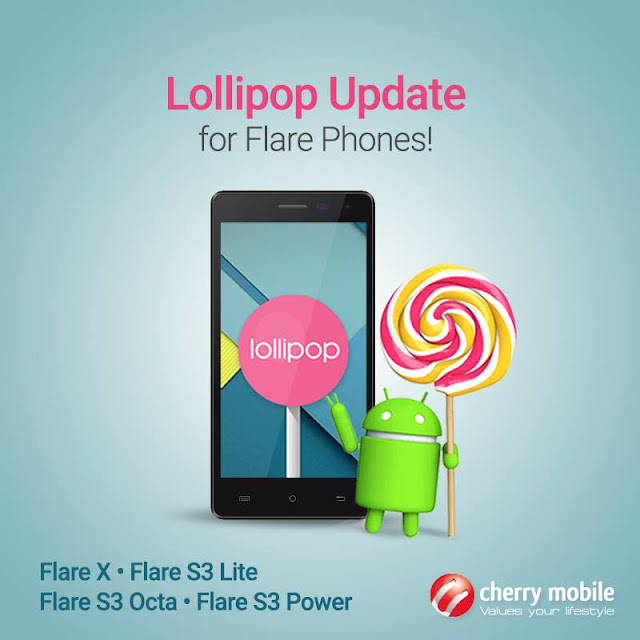 Cherry Mobile Flare Android Lollipop updates