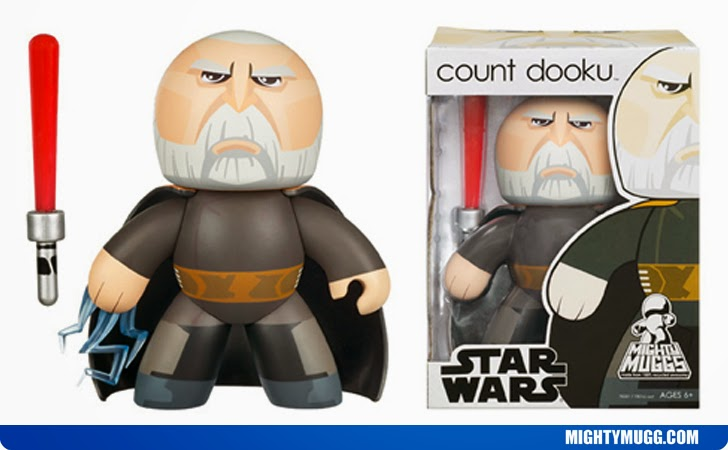 Count Dooku Star Wars Mighty Muggs Wave 5