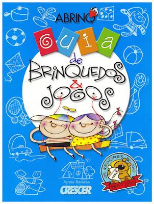 capa onde aparece a ilustracao de duas criancas brincando num balanco. ao fundo, diversos brinquedos.