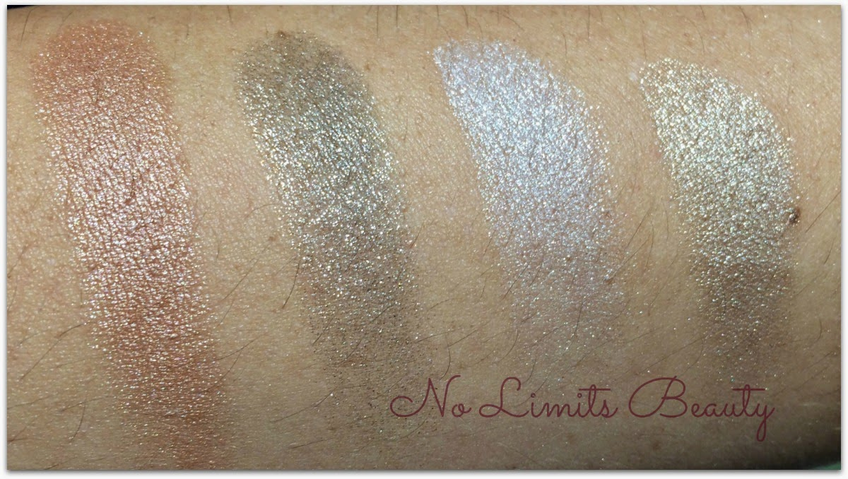 Catrice - Metallure Bronzer & Eyeshadows swatches