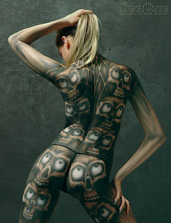 Sexy Girl Body Paint
