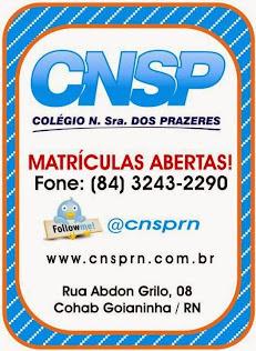 COLÉGIO NOSSA SENHORA DOS PRAZERES-CNSP