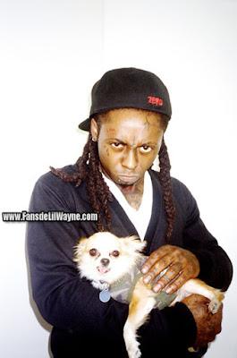fotos de lil wayne y un perro