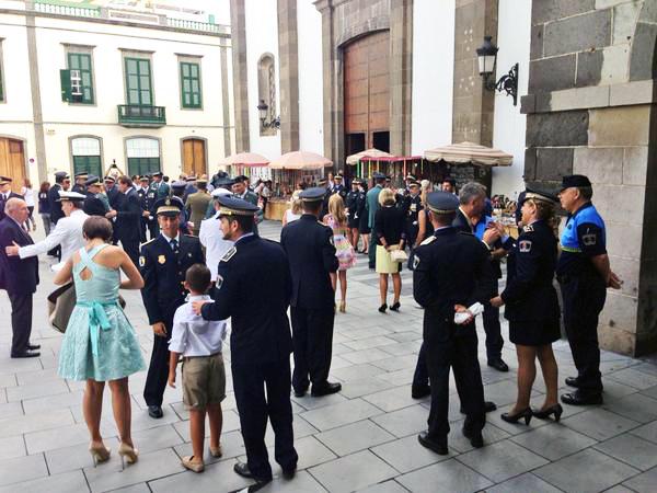 Cristo de la Vera Cruz 2015, Policía Local Las Palmas de Gran Canaria