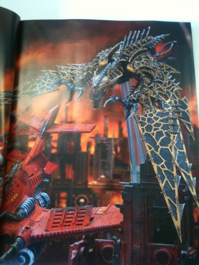 Images from Oct White Dwarf: Helldrake, Forgefiends, and More