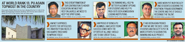 I am proud of being a PU alumnus. I am elated today. Success comes with the efforts of all and I would like to give credit to all - Satya Pal Jain, BJP leader, PU Senate member