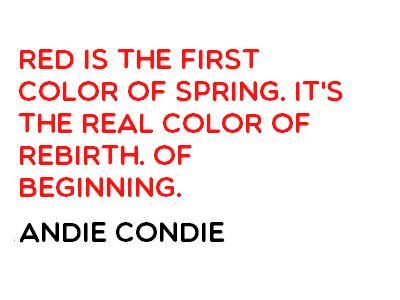 quotes about the color red quotesgram