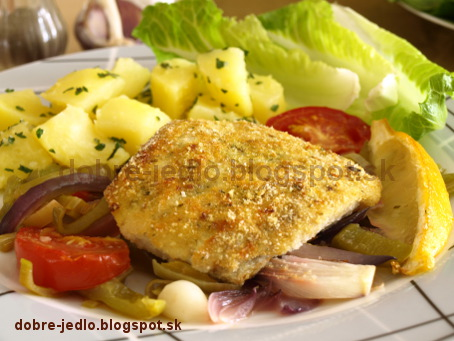 Treska s pečenou zeleninou - recepty