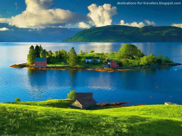 Ilha Tysnes, Hordaland, Noruega ( Norway )