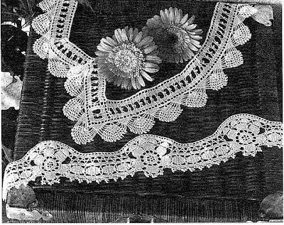 Uncinetto e crochet deliziosi e facili questi due bordi for Bordi a uncinetto con spiegazioni