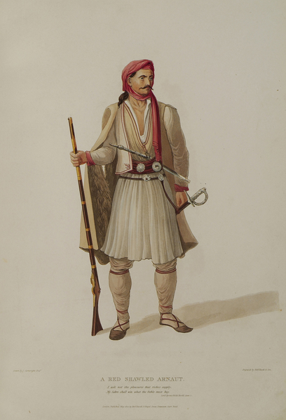 A red shawled Arnaut