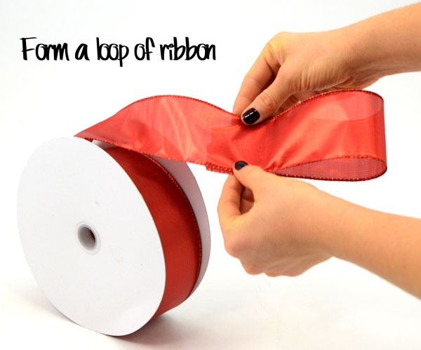 Step One: Ribbon Tuck