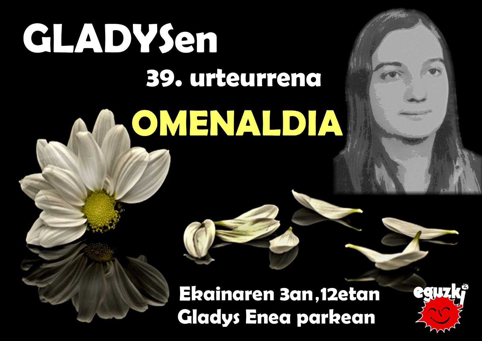 2018ko Gladysen omenaldiaren irudiak