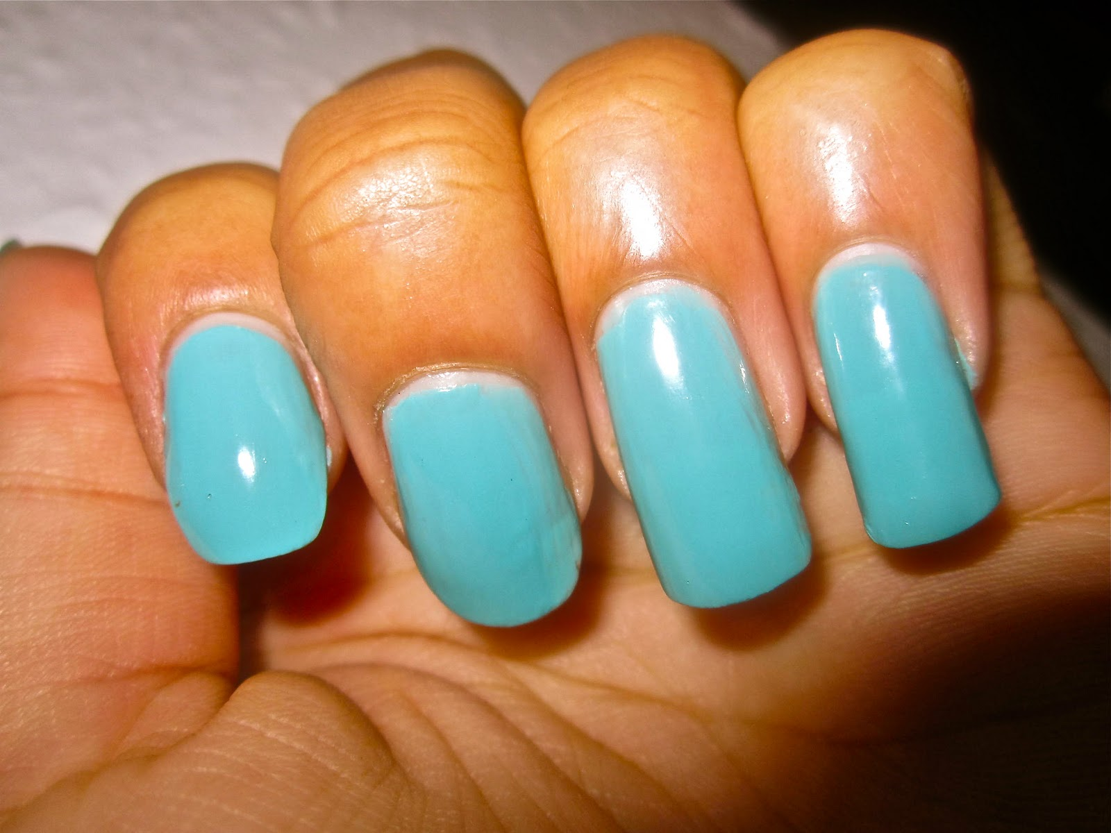 Yolanda G: ♥ Long natural nails