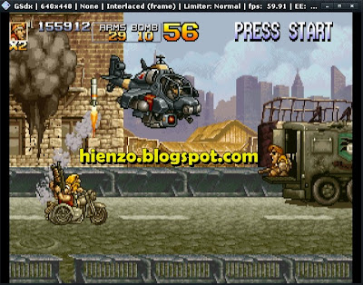 Metal Slug 4 PS2 Gameplay