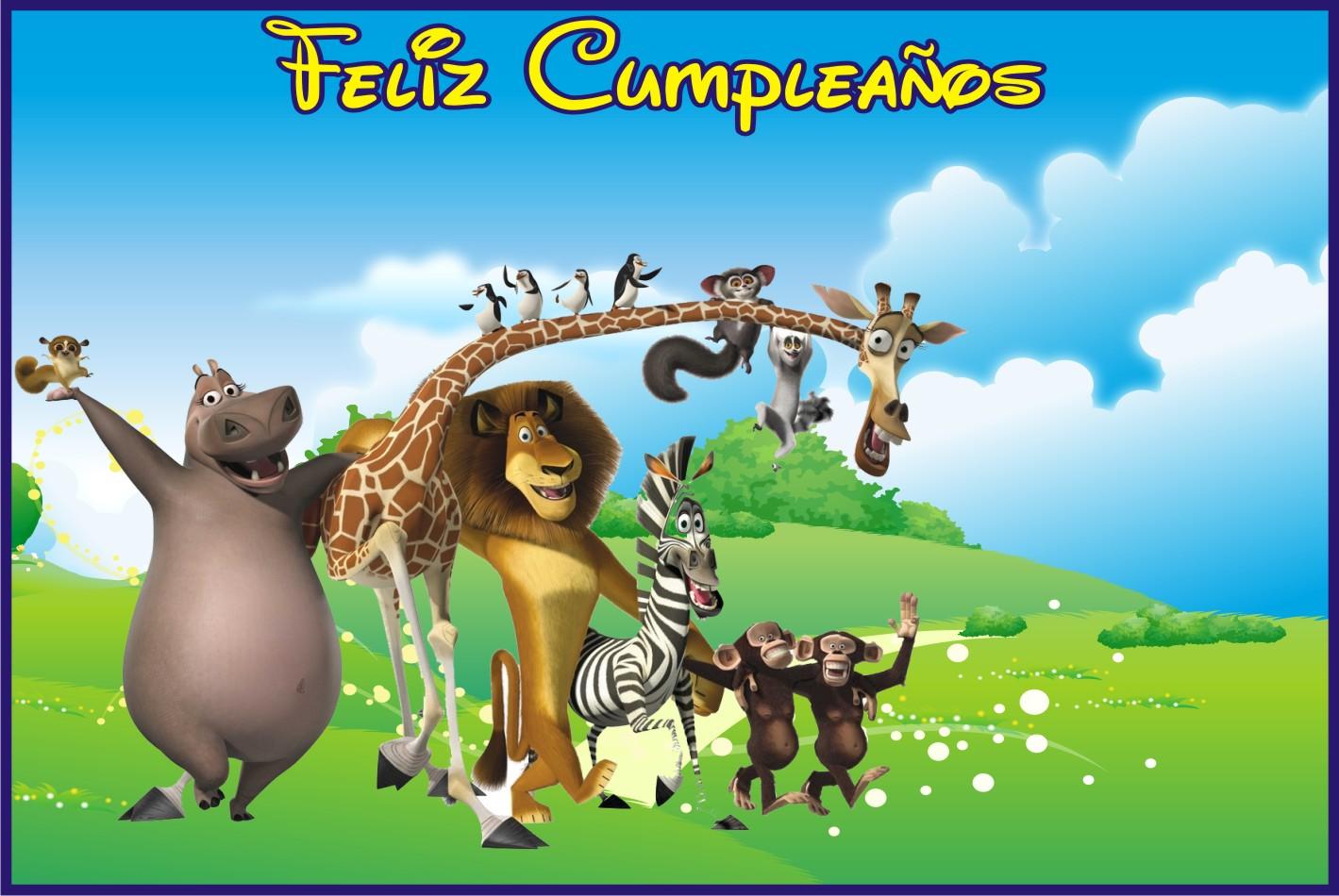 Fondos Fondo De Madagascar Para Cumpleaños