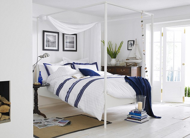 Coastal Style: Nautical Style Bedrooms