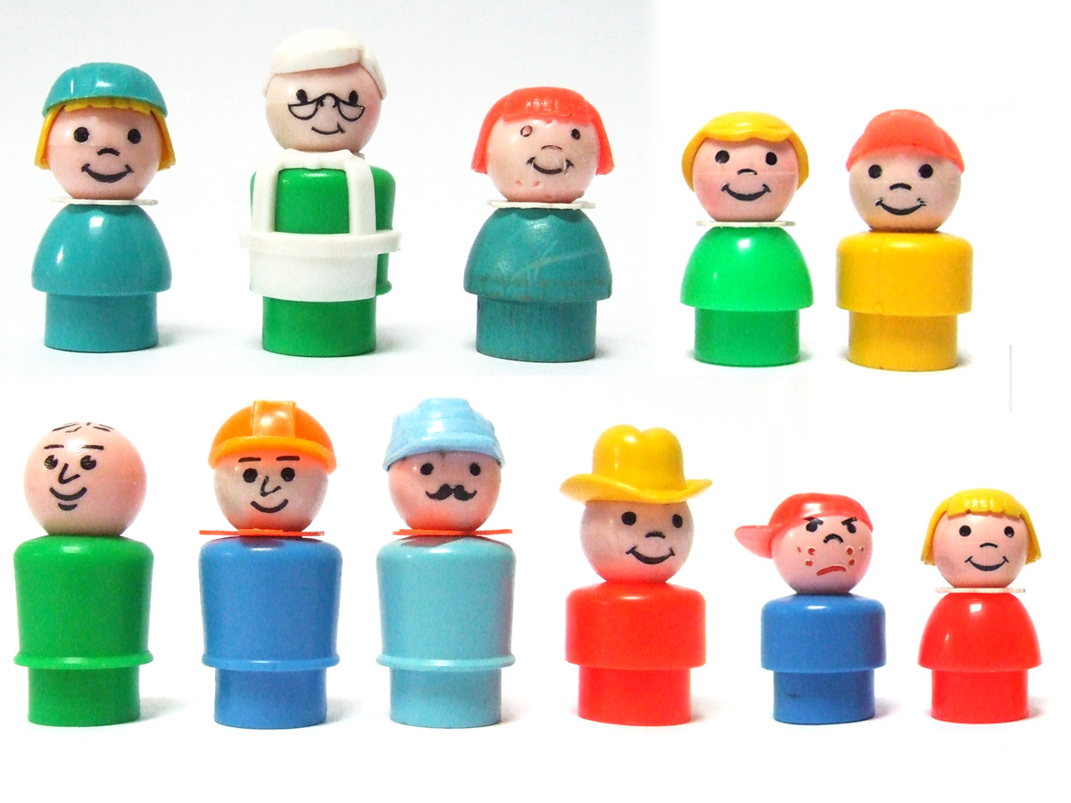 down to the cellar fisher price little people