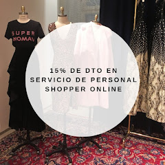 15% DE DTO SERVICIO PERSONAL SHOPPER ONLINE