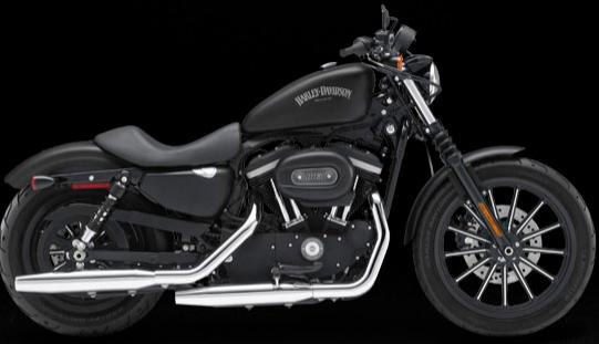 Harley-Davidson Iron 883 Red