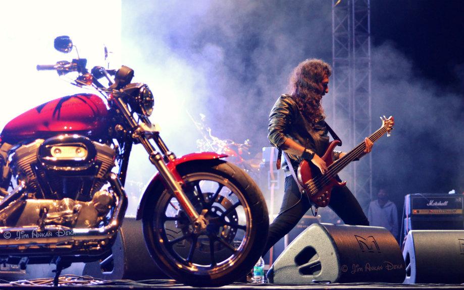 Kryptos at Harley Rock Riders Season III, Bangalore - Jim Ankan photography