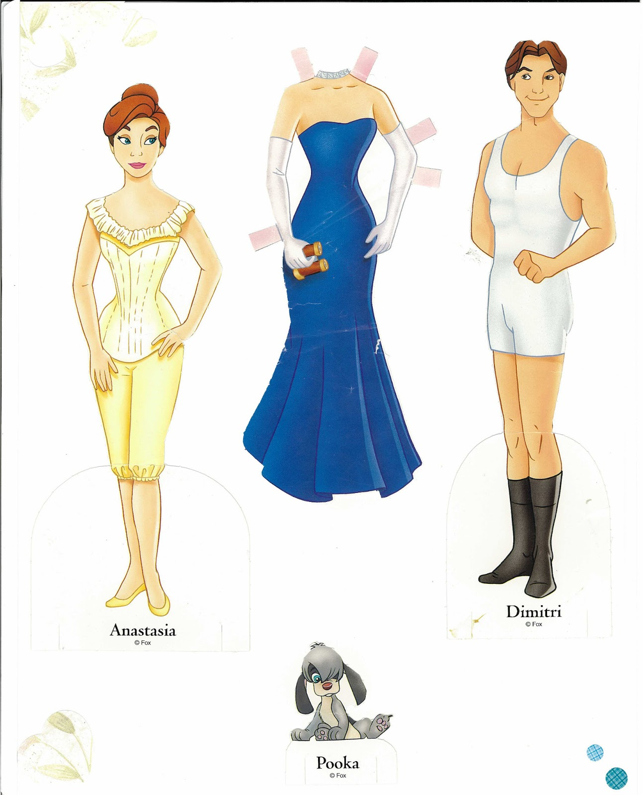 Miss Missy Paper Dolls: Disney sets